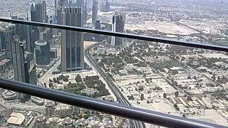 Burj Dubai --Observation Deck View