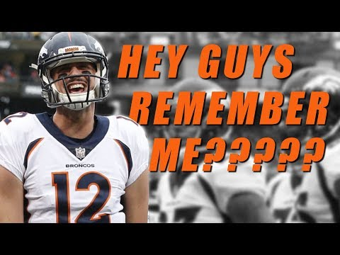 Paxton Lynch to Start - Vance Joseph to Be Fired?