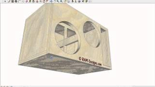 "RAM Designs: T3 Audio TSNS 15"" Wall in an Eclipse"