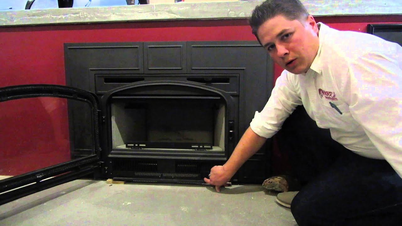 napoleon epi3 wood burning fireplace insert product review youtube