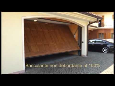 D m a porte basculanti di sicurezza non debordanti youtube - Porte de garage non debordante ...