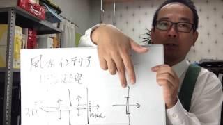 風水インテリア漏財宅回避にのれんを使う 風水カーテン 青木恭子 検索動画 26