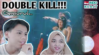 Indonesian React Search ft Wings - Gemuruh   #LIVE Reaction