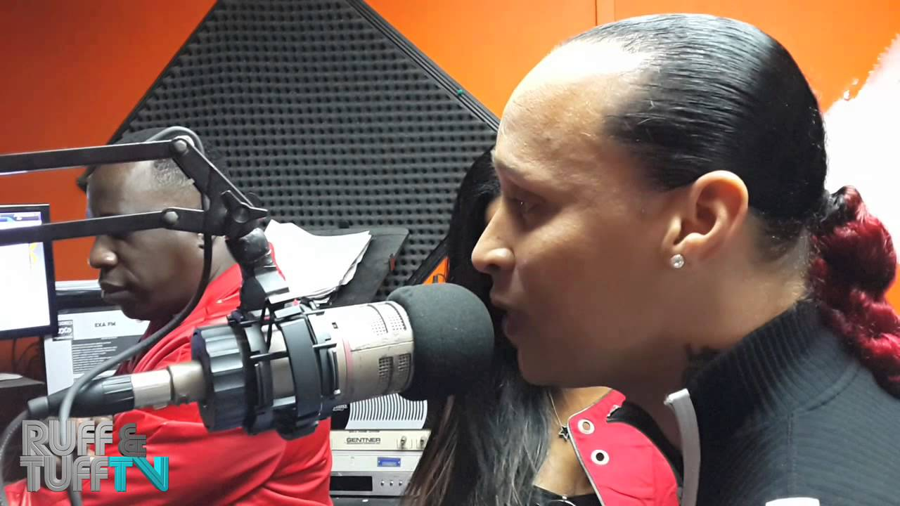 Red Rat Red Rat Pascalle freestyle en EXA FM RUFF TUFF TV YouTube