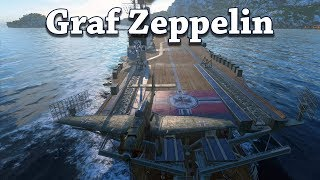 World of Warships: Graf Zeppelin Has Fast Planes