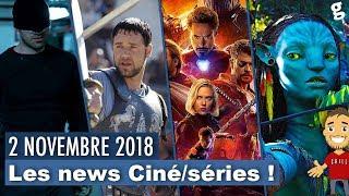 Script Marvel Phase 4 / Daredevil Audience / Titres Avatar / Gladiator 2 / Etc .