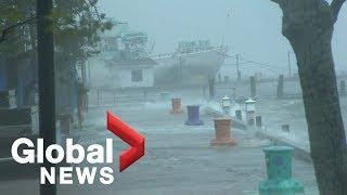 Halifax seeing full force of Hurricane Dorian as landfall expected soon