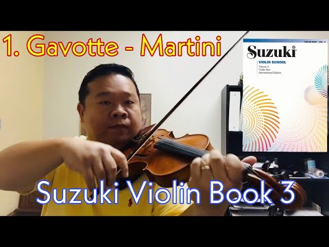Suzuki Violin School - Book 3 - Gavotte
