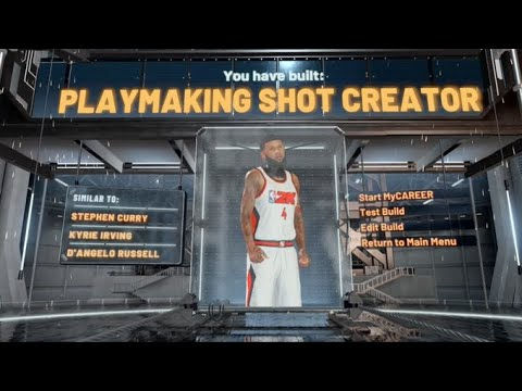 Best Playmaking Shot Creator Build On NBA 2K20! 53 Badge Upgrades! Best Guard Build On NBA 2K20!