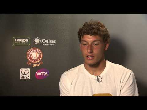 Portugal Open 2014: Post Match Interview with Pablo Carreno Busta - Monday, April 28th