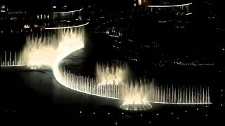 Dubai Fountain - Michael Jackson