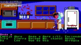 Maniac Mansion (1989, PC, gameplay español)