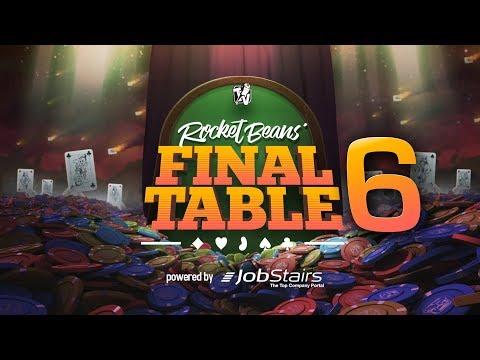 Final Table - Pokern bei den Rocket Beans u.A. mit Fabian Siegismund, AlexiBexi & Philipp Walulis
