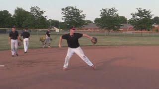 With taking baseball skills to U S
