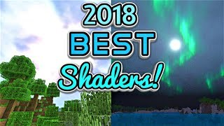 Minecraft NEW BEST SHADERS UPDATED 2018! Xbox One, Win 10, PE