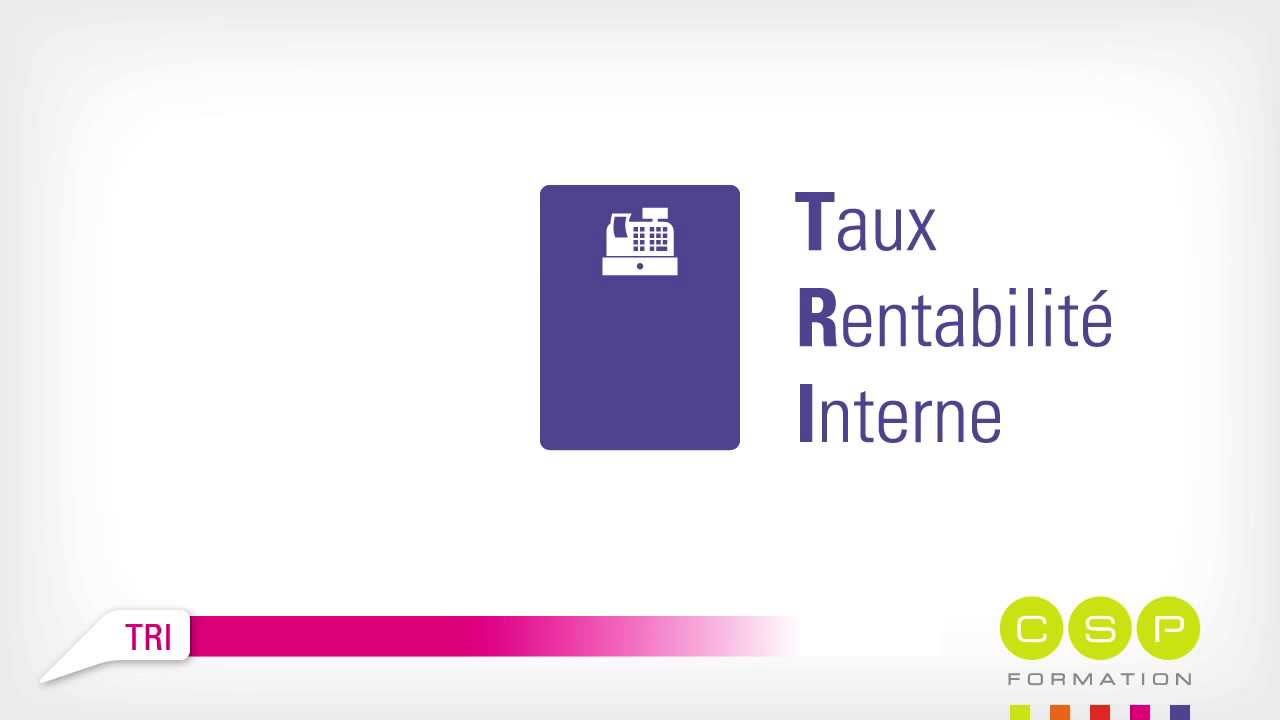 Tri Taux De Rentabilite Interne Video Gros Mot En Finance Youtube