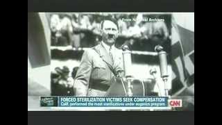 2012 CNN Reports On California's Eugenics History & How They Assisted The Nazis Eugenics Pr