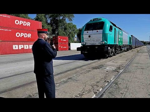 Yiwu to Madrid cargo train benefits China-Europe trade