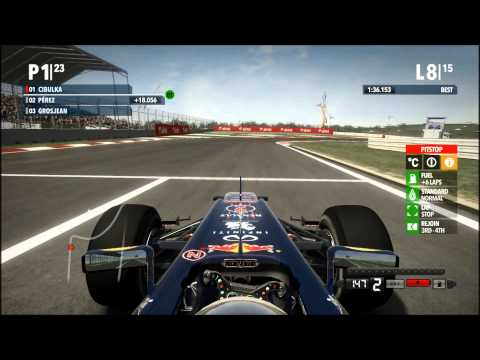 F1 2012 - VC Indie - závod (Red Bull)