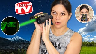 Night Hero Binoculars Review - Testing As Seen on TV Products
