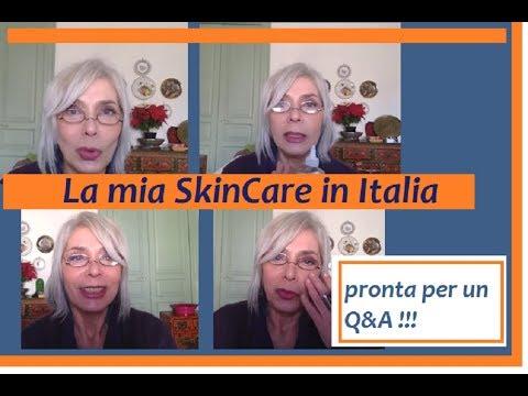 La Mia SkinCare in Italia  ~  Domande?  Pronta per un Q&A ~
