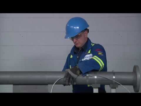 Installing Raychem Heat Trace Cable on Industrial Piping