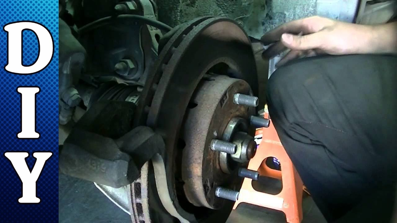 Front Brake Pads and Rotors Replacement - 2006 Mitsubishi ...
