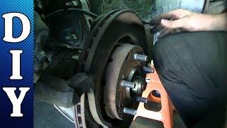 Front Brake Pads and Rotors Replacement - 2006 Mitsubishi Outlander