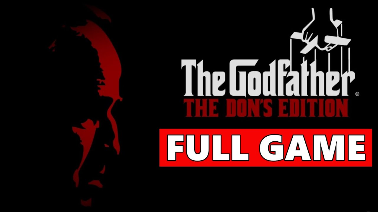 The Godfather: The Dons Edition Full Walkthrough Gameplay - No Commentary (PS3 Longplay)