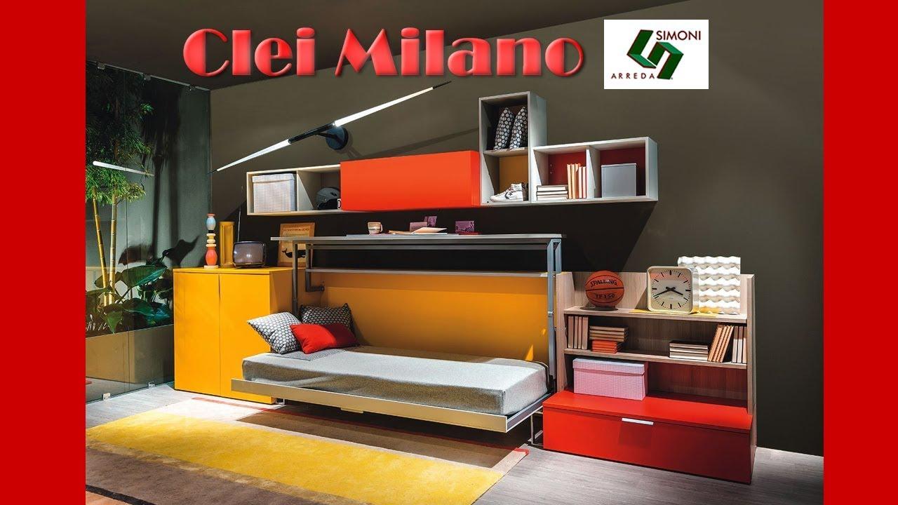 Clei milano simoni arreda youtube for Lideo arreda