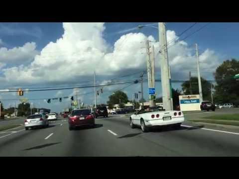GA SR 52 Eastbound through Dalton, GA