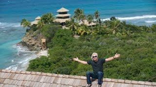 Video: Ein Tag mit Richard Branson auf Necker Island