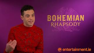 Rami Malek talks living up to the legendary Freddie Mercury and working with Irish co-stars