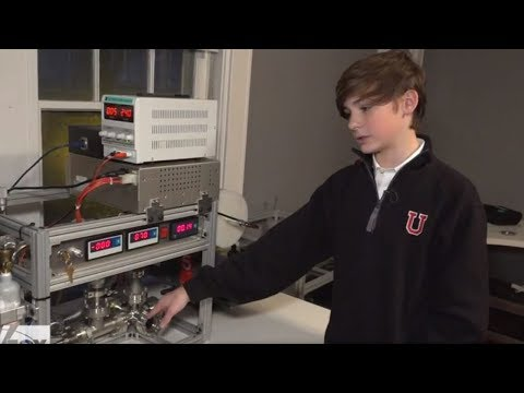 12 Year Old Boy Builds Working Nuclear Reactor