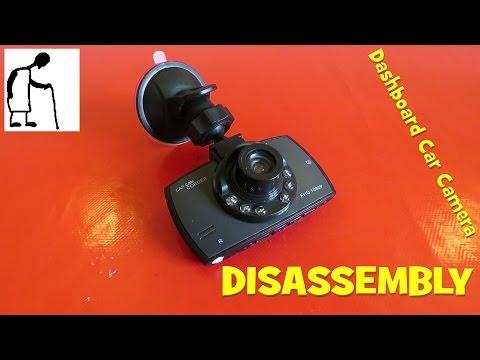 Disassembly Cheap Dashboard Car Camera