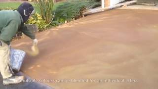Pattern Imprinted Concrete / Stamped Concrete Driveway by Readypave Ltd