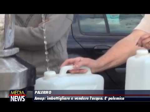 Palermo, l'Amap vuole imbottigliare l'acqua e venderla. Scoppia la polemica