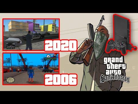A História Do Modding De GTA San Andreas No Playstation 2!