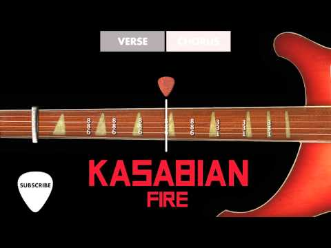 HOW TO PLAY: Kasabian  Fire