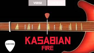 HOW TO PLAY: Kasabian - Fire