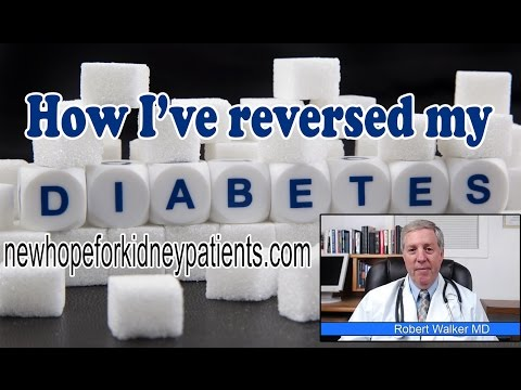 How To Reverse Type 2 Diabetes - Diabetic Nephropathy