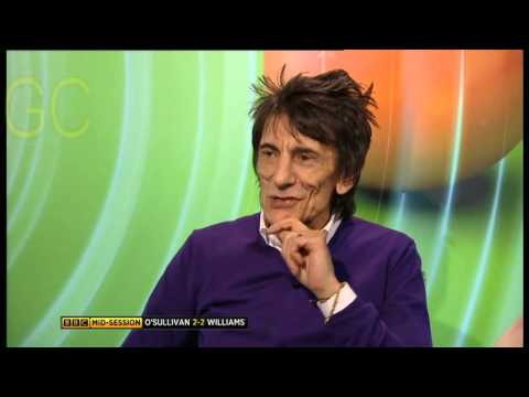 Snooker-The Masters 2016-Ronnie Wood Interview
