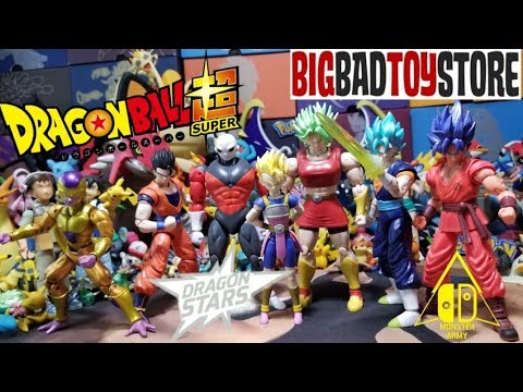 UNBOXING DRAGONBALL SUPER FIGURES! COMPLETE DRAGON STARS KALE BAF WAVE FROM BIGBADTOYSTORE!
