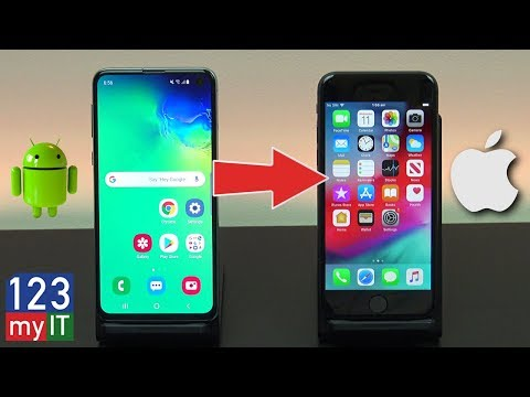 Transfer Data Android To IPhone 2019