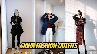 Tik Tok China 🖤 China Fashion Outfit #17 👫时尚穿搭, trung quốc Thời Trang Phối Đồ, แฟชั่น เสื้อผ้า จีน