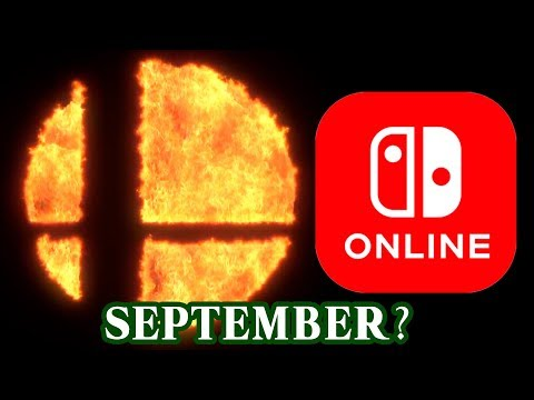 Super Smash Bros with Switch Online in September?