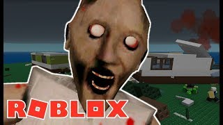 THE WICKED GRANDMA SCARED ME!! ROBLOX Granny Janosik