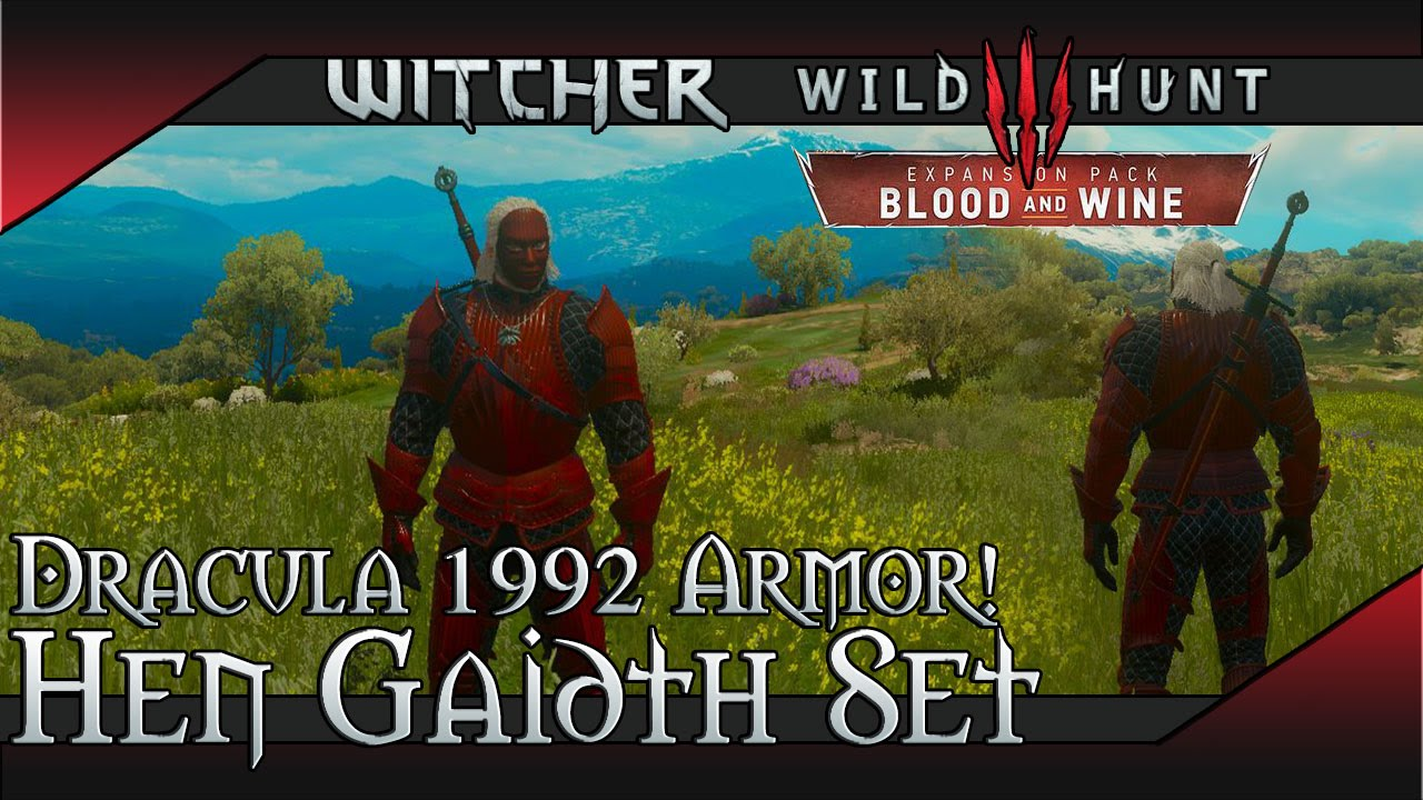 Hen Gaidth Armor | Witcher 3: Blood and Wine