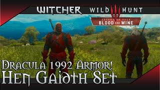 Witcher 3: Blood and Wine - Hen Gaidth Full Set Location & Showcase Dracula 1992 Easter Egg