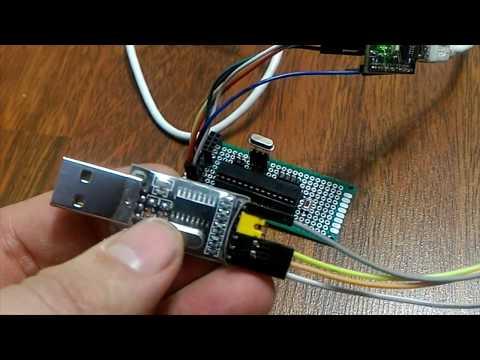 Прошивка ATmega8, создание Bootloader и добавление платы Boards в Arduinio IDE,  настройка Fuse Bit